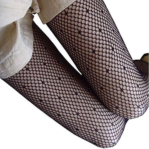 Ularma Mode Femmes NET Résille Bodystockings Modèle Bas-culottes Collants Bas W022