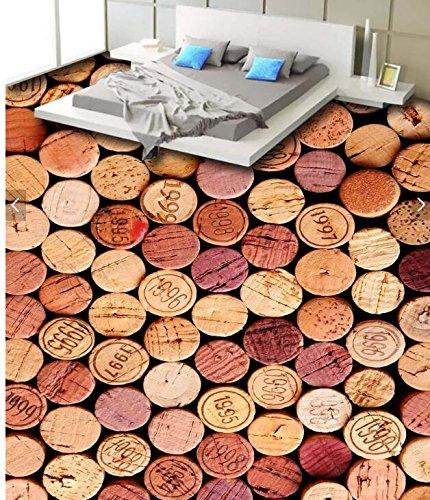 Wongxl 3D Stock Des Retro Bottle Bar Cafe Studie Fliesen In Poster Wasserfeste Aufkleber Eingerichtet 350cmX300cm - Cafe Stock