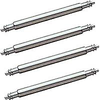 4 pezzi di barrette a molla in acciaio inossidabile di alta qualità Ø 1,78 mm per cinturini per orologi