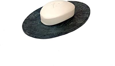 "Stone Made Sleek Soap Dish Soap Holder 5.4"" X 3.5"" Beautiful Soap Dish Bath Accessories By-Wigano"