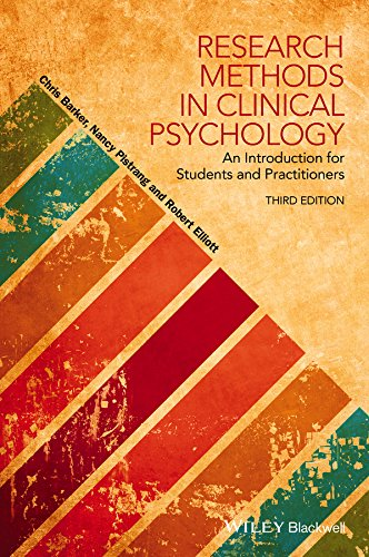 Research Methods in Clinical Psychology: An Introduction for Students and Practitioners por Chris Barker