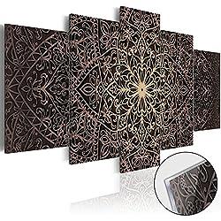 murando - Cuadro de cristal acrilico 200x100 cm - Cuadro de acrilico - Impresion en calidad fotografica - Mandala Oriental f-C-0133-k-n