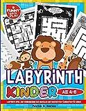 Labyrinth Kinder ab 4-6: Labyrinth Spiel zur Verbesserung der mentalen und geschichten Fähigkeiten Für Kinder (Labyrinth Rätsel für Kinder, Band 3) - Patrick N. Peerson