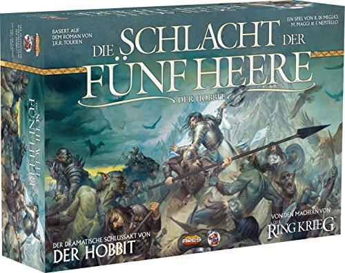 Preisvergleich Produktbild Heidelberger HE596 - Hobbit - Schlacht der Fünf Heere - Ein Strategiespiel für 2 Personen