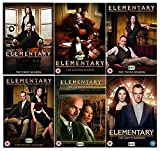 Elementary Season 1-6 Complete DVD Collection (An American-made reimagining of the classic detective novels by Arthur Conan Doyle)