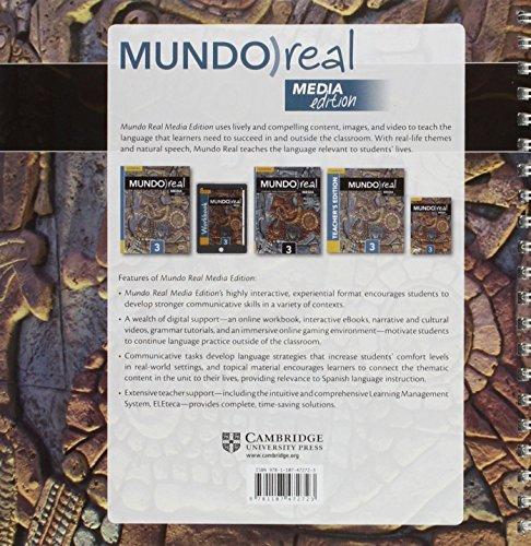 Mundo Real Media Edition Level 3 Teacher's Edition plus ELEteca Access and Digital Master Guide