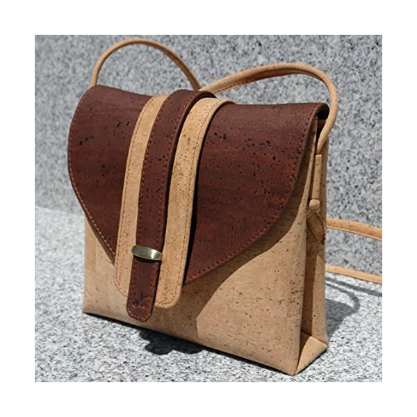 All cork handbag/purse - handmade-bags