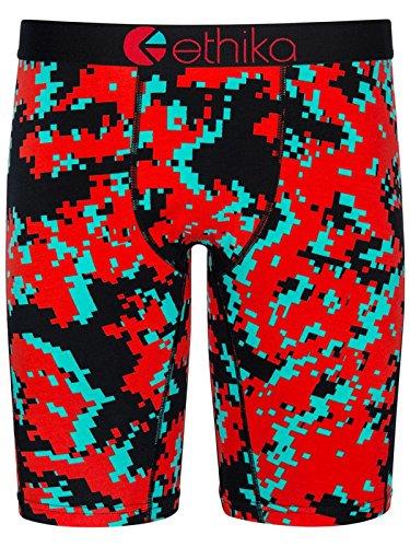 Ethika Blue-Red Digi Camo 3D Boxer Shorts