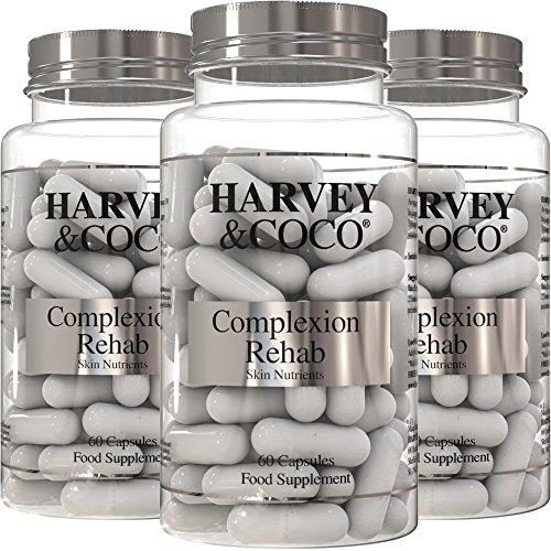 Collagen, Hyaluronic Acid, Vitamin C & E Skin Care Supplement For Women & Men (3 x Bottles) Test