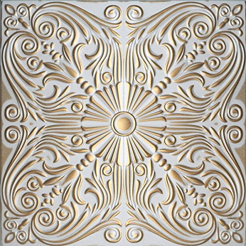 hand-painted-polystyrene-foam-ceiling-tiles-retro-76-white-gold-pack-40-pcs-10-sqm