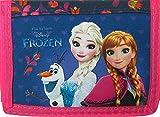 Frozen / Die Eiskönigin - Geldbörse - Größe eingeklappt: 12 cm x 8 cm