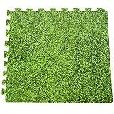 Manufacturas Gre–Puzzlematte, 9-teilig 50x 50cm, grün/Gras