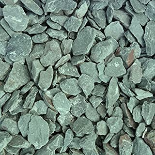 JT Atkinson Decorative Aggregate Green Slate Chippings 40mm 25kg Bag