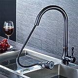 NewBorn Faucet Küche oder Badezimmer Waschbecken Mischbatterie Ziehen Sie Den Wasserhahn Warmes und Kaltes Becken Spülen Waschbecken Mixer 5 Tippen Sie auf