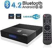 A95X Android 9.0 TV Box 4GB RAM 32GB ROM Amlogic S905X2 Quad-core Cortex-A53 Dual Band WiFI 2.4G/5G USB 3.0 support HDMI 2.1