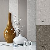 NEWROOM Tapete Braun Streifen Linien Modern Vliestapete Grau Vlies moderne Design Optik Tapete Landhaus inkl. Tapezier Ratgeber
