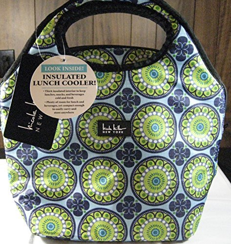 nicole-miller-of-new-york-insulated-lunch-cooler-kaleidoscope-blue-13-tote-by-nicole-miller