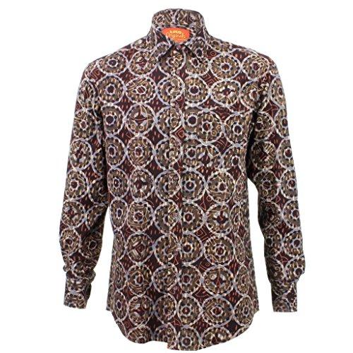 loud-originals-coupe-classique-chemise-a-manches-longues-noir-orange-et-gris-abstrait-noir-large