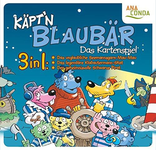 Price comparison product image Käpt'n Blaubär - Das Karten-Spiel: 3 in 1: Das unglaubliche Seemannsgarn-Mau-Mau / Das legendäre Klabautermann-Skat / Der geheimnisvolle Schwarze Pirat