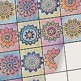 creatisto Sticker Carrelage Autocollant I Adhésif carrelage - Stickers muraux Salle de Bain et Cuisine - Mosaïque carrelage Mural I Carrelage adhésif (15x20 cm I 6 - Pièces)