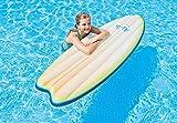 Surfer - Surfbrett - Wellenreiter - Surfboard - Aufblasbar Surfbrett - Luftmatratze - Größe ca 178 x 69 cm - Badespaß für Kinder / aufblasbarer Surfer / Kinderbadeartikel / aufblasbare Badetiere / aufblasbare Badeartikel für Kinder / der ideale Badespass für Schwimmbad , See , Strand oder Bade Urlaub (weiß)
