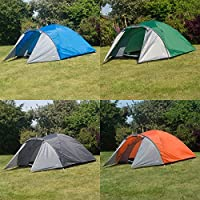 tenty.co.uk Adtrek Double Skin Dome 4 Man Berth Camping Festival Family Tent