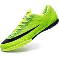 REBEST Football Boots Men Football Shoes Cleats Turf Trainers Junior Rugby Outdoor Sneakers Wear-Resistence Soccer Shoes…