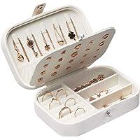 Lrikas Piccolo Portagioie da Viaggio Portagioie Donna Scatola di Gioielli Organizzatore di Gioielli Jewelry Box 16,5 x…