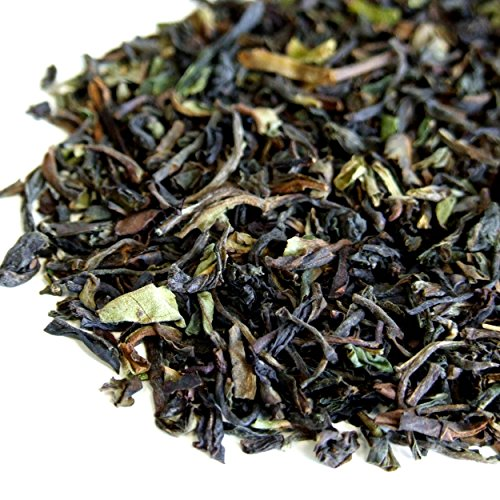First flush Darjeeling nero sciolto foglia di tè