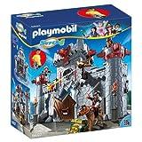 Playmobil 6697 - Super 4 - Castello Portatile Del Barone Nero