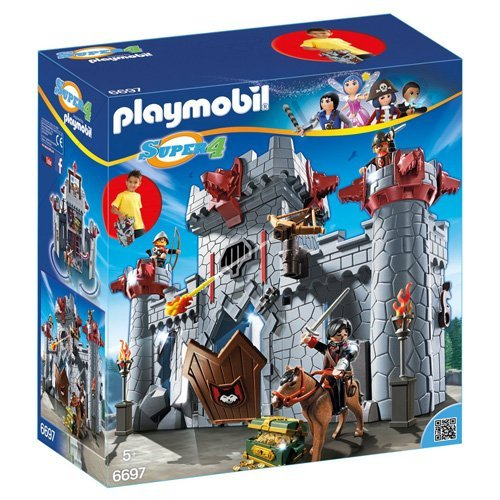 Playmobil - 6697 - Super4 - Citadelle Transportable du Baron Noir