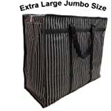sanjis enterprises Multipurpose Extra Large Big Heavy Duty Storage Organizer Canvas Bag with Strong Handles and Base with Cov