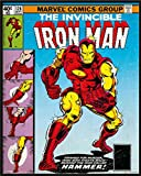 Iron Man - Cover - Comic animation Vintage Mini Poster - Dimensions 40 x 50 cm + accessoires
