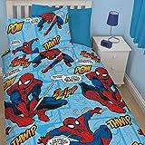 Spiderman Rotary copripiumino singolo set [Colour–multi] - Best Reviews Guide