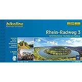 Rhein-Radweg / Rhein-Radweg Teil 3: Mittelrheintal · Von Mainz nach Duisburg, 305 km, 1:75.000, wetterfest/reißfest, GPS-Trac