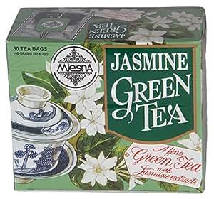 Mlesna Flavoured Green Tea, Jasmine, 100g