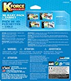 K'NEX K-Force 30-Dart Pack and Target for Ages 8+, Engineering Educational Toy, 51 Pieces