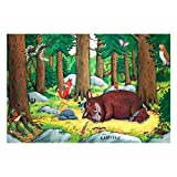 Non-woven Wallpaper - Gruffalo - Nap In The Forest - Mural Wide
