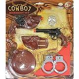 Amscan 997577 Accessoire Set, Cowboy, One Size