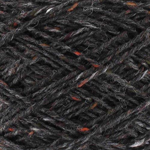 Next Yarns Chunky Tweed 500g Kone Farbe 34801 schwarz -