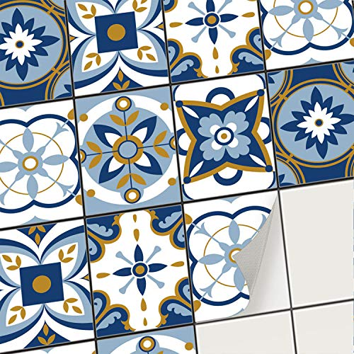 creatisto Fliesenaufkleber Fliesenfolie Mosaikfliesen - Klebe Folie für Wandfliesen I Stickerfliesen - Mosaikfliesen für Küche, Bad, WC...