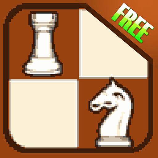 204 8-Bit-Retro-Schach Kampf taktische Puzzle - kostenlos (Links Taktische)