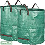 GardenMate® 2x 500l Gartensack PROFESSIONAL aus robustem Polypropylen-Gewebe (PP)