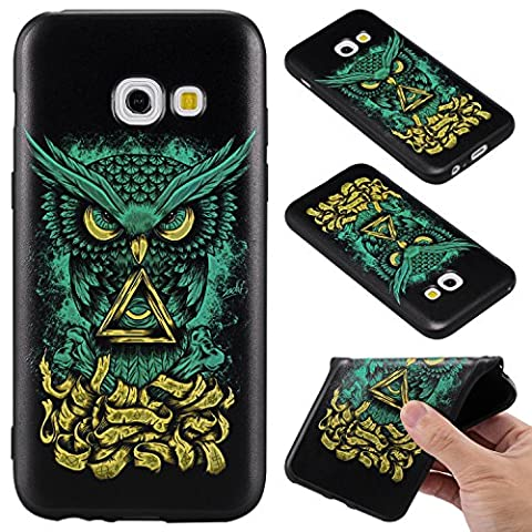 Samsung Galaxy A3 2017/A320 Case Cover, Ecoway Fashion painting pattern Soft Silicone Case Protective Cover Cell Phone Case for Samsung Galaxy A3 2017/A320 - little
