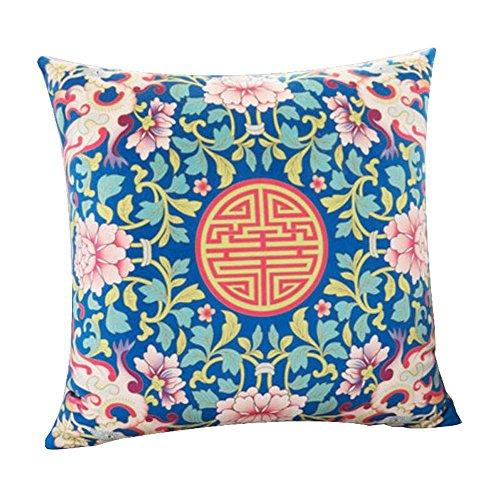 Dragon troops cuscini decorativi per cuscini decorativi classici eleganti con cuscino, 15 x 15