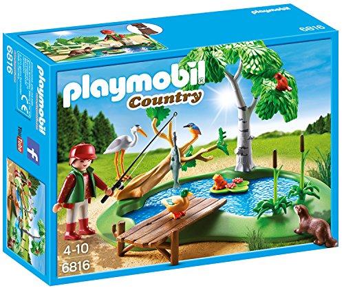 Preisvergleich Produktbild PLAYMOBIL 6816 - Angelteich