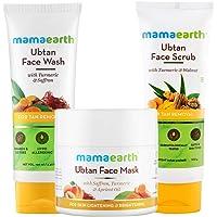 Mamaearth Bridal Facial Kit(Ubtan face Wash, Ubtan Face Mask & Ubtan Face Scrub Combo)