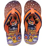 Tip top fashion Flip Flop/Slippers For Kids (Boys & Girls)|Orange Angry Bird Printed