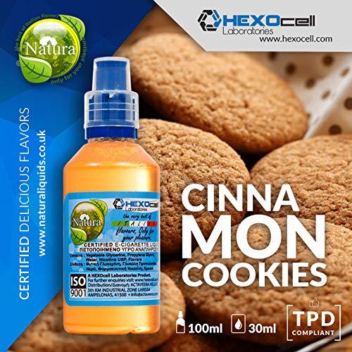 E LIQUID PARA VAPEAR - 30ml Cinnamon Cookies Galletas