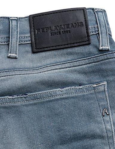 Replay Herren Skinny Jeans Jondrill Blau (Light Blue Denim 9)